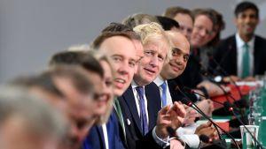 Boris Johnsonin kabinetin kokous