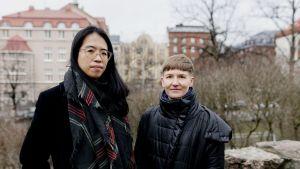 Christina Li ja Pilvi Takala