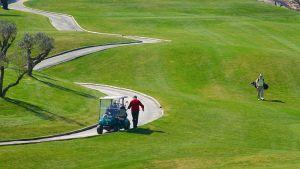Golfkenttä Portugalissa.