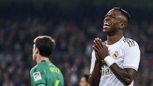 Real Madridin Vinicius Jr:n ilme kertoo, miltä cup-tappio tuntuu.