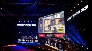 Kynyniekat ja LDLC Assembly Winter 2020 -tapahtuman CS:GO-turnauksessa.
