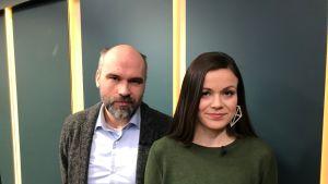 Sonja Saarikoski ja Wilhelm Kvist