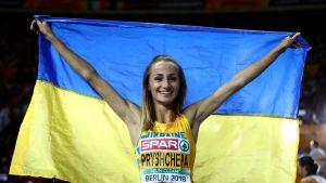 Nataliya Krol (entinen Pryshchepa) kuvassa