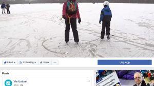 Kuvakaappaus Yle Uutisten Facebook-sivulta.