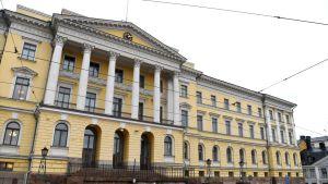 Valtioneuvoston linna Helsingissä Senaatintorin laidalla