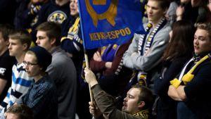 Kiekko-Espoo lippu