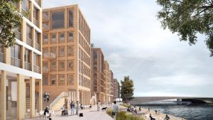 Hakaniemenranta uudistuu 2020-luvulla.