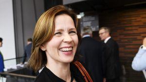 Kuvassa on Johanna Vesikallio.