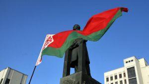 Leninin patsas Valko-Venäjällä Minskissä
