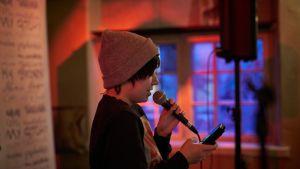 Nuorten open mic -ilta