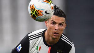 Cristiano Ronaldo lähikuvassa.