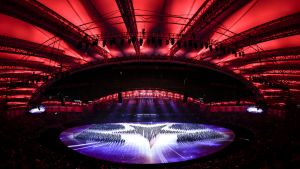Wuhanin sotilaiden maailmankisojen avajaiset 2019