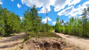 Vuonna 1995 syntynyt kotkalainen mies löydettiin kuolleena Räskintien varrella olevan hiekkakuopan alueelta.