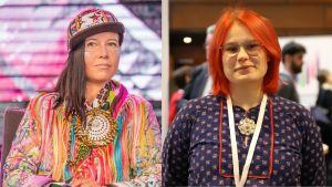 Jenni Laiti ja Anni-Sofia Niittyvuopio