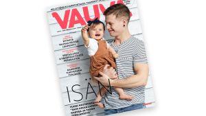 Vauva-lehden kesä- ja heinäkuun numero.