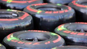 Pirelli F1-renkaat
