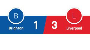 Brighton - Liverpool 1-3
