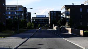 Suurpellon asuinalue Espoossa.