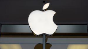 Applen logo.