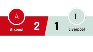 Arsenal - Liverpool 2-1