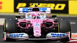 Racing Pointin vuoden 2020 F1-auto.