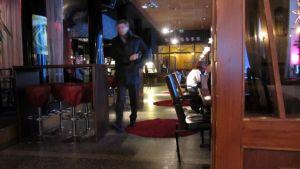 Hotelli Merihovin ravintola Ankkurin ruokailutila