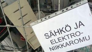 Sähkö- ja elektroniikkaromua