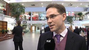Pääministeri Jyrki Katainen