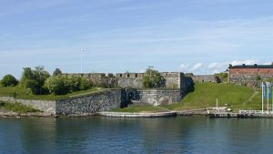 Suomenlinnan muurit.