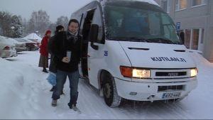 Lapin yliopiston bussikokeilu alkoi