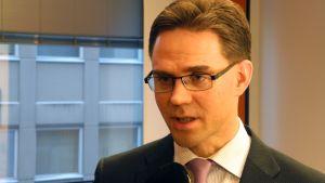 Pääministeri Jyrki Katainen (kok.)