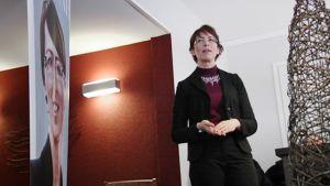 Sari Essayah kampanjoi Nurmijärvellä.