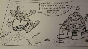 Ruutu Peräsmies-sarjakuvasta