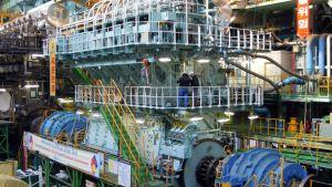 Wärtsilän valmistama jättiläismäinen moottori.