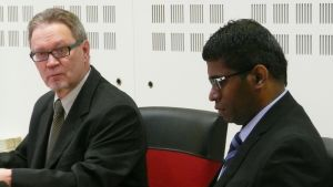 Wilson Raj Perumal ja asianajaja Rovaniemen hovioikeudessa