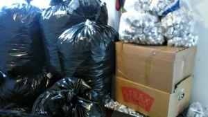 Niemelän yhtenäiskoulun varastossa yli 91 000 tuikkuhylsyä