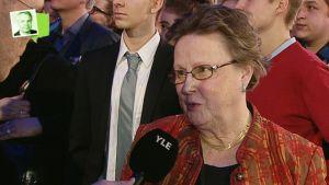 Pekka Haaviston kansalaisvaltuuskunnan johtaja Helena Ranta