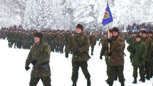 alokkaita marssi Kainuun prikaati