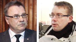 Pentti Oinonen ja Stefan Wallin.