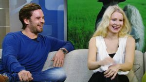 Mikko Leppilampi ja Pamela Tola