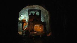 Kone louhii kaivostunnelia