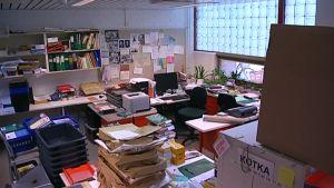 Kouvolan pääkirjaston logistiikkakeskus