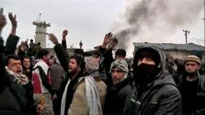 Mielenosoitus afganistanissa.