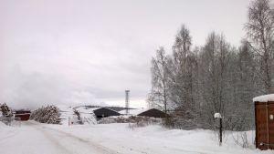 Green Fuel Nordicin tulevan biojalostamon paikka Anaika Woodin vieressä.