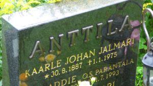 Kalle Anttilan hauta