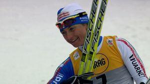 Arianna Follis oli vahvin naisten sprintissä Düsseldorfissa.