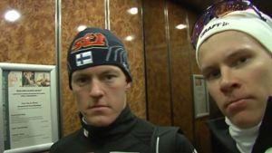 Sami Jauhojärvi ja Matti Heikkinen