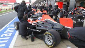 Matias Laine Silverstone varikko GP3