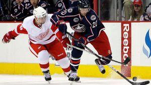 Kristian Huseliuksen NHL-kausi päättyi seinään nimeltä Detroit Red Wings.