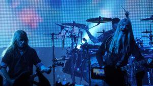 Nightwishin Emppu Vuorinen ja Marco Hietala.
